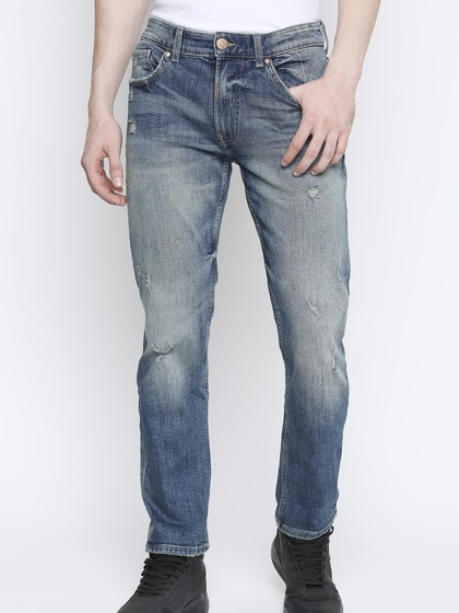 Product Image for Arnold Mid Blue Slim Jeans