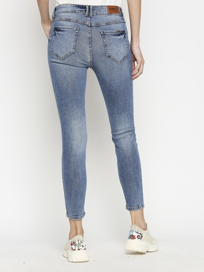 Product Image for Berne Light Blue Skinny Jeans