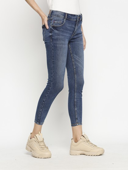 Product Image for Berne Mid Blue Skinny Jeans