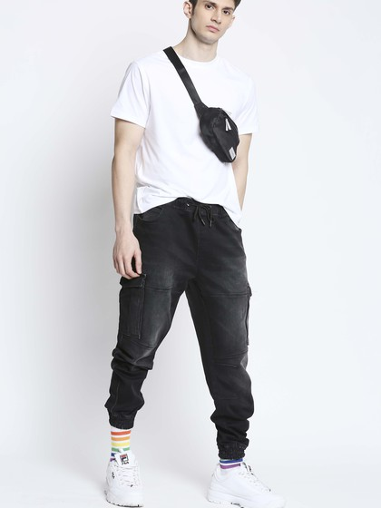 Product Image for Cargo Black Jogger