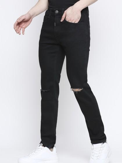 Product Image for Cruz Black Skinny Kneecut Jeans