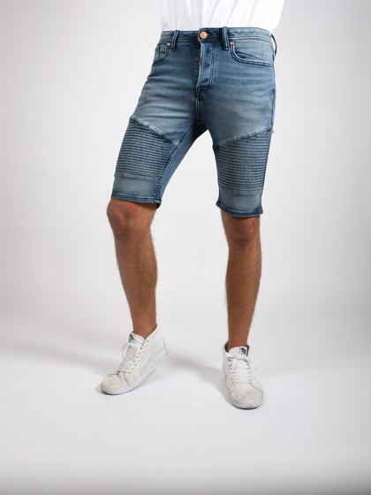 Product Image for Jamie Dark Blue Biker Shorts