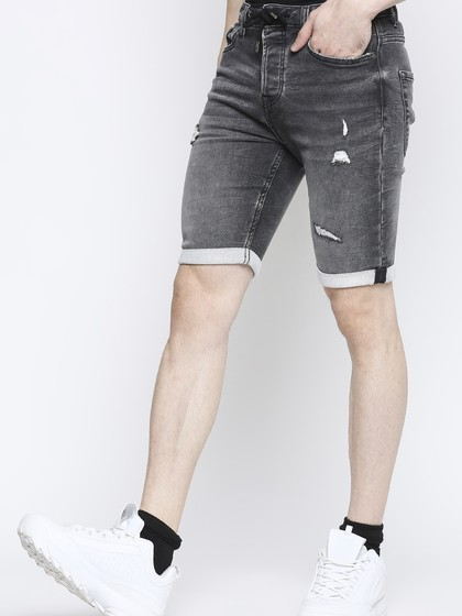 Product Image for Jose Grey Rip & Repair Shorts