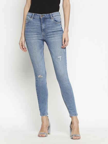 Product Image for Nirobi Mid Blue Highwaist Jeans