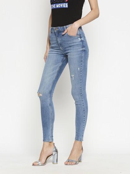 Product Image for Nirobi Mid Blue Highwaist Jeans