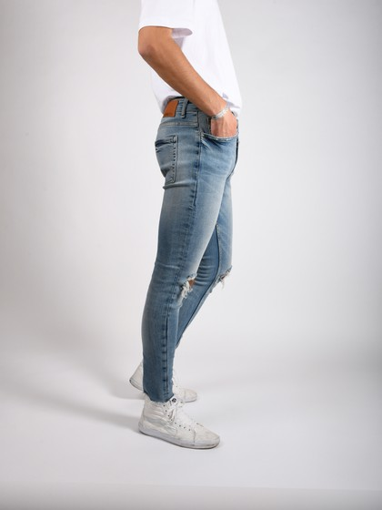 Product Image for Stallone Light Blue Super Skinny Jeans