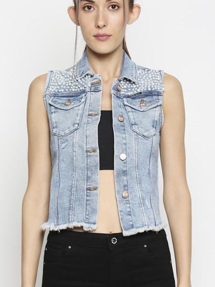 Product Image for Texas Acid Blue Vest Jacket