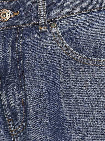 Product Image for Valancia Dark Blue Mom Jeans