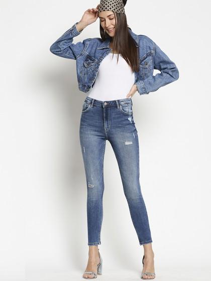Product Image for Vienna Highwaist Dark Blue  Skinny Jeans