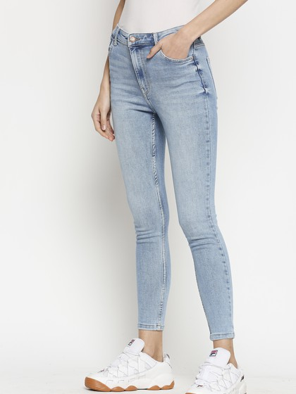 Product Image for Vienna Highwaist Light Blue  Skinny Jeans