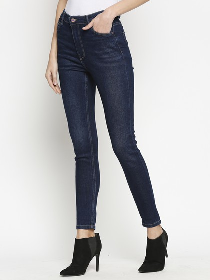 Product Image for Vienna Highwaist Rinse  Blue  Skinny Jeans