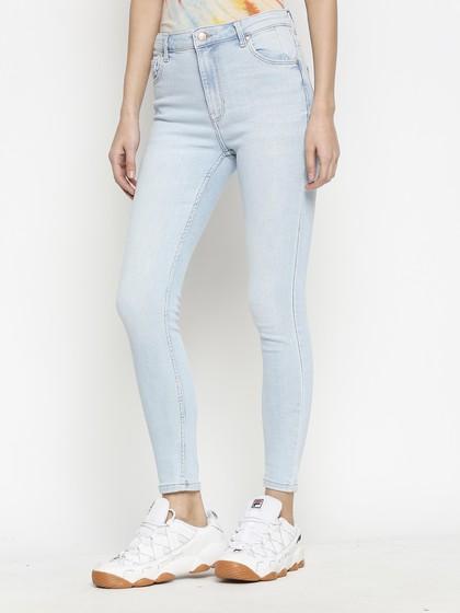 Product Image for Vienna Highwaist Super Light Blue  Skinny Jeans