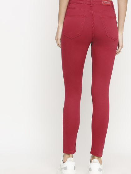 Product Image for Vienna Teracotta  Highwaist Skinny Jeans