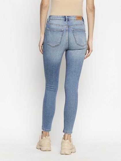 Product Image for Vienna Highwaist Vintage  Blue  Skinny Jeans