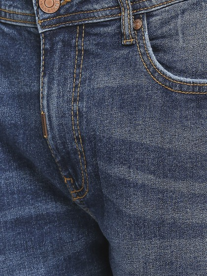 Product Image for Willis Dark Blue Slim Straight Fit Jeans