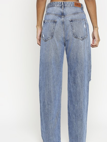 Product Image for Sofia Mid Blue Wide Leg Jeans