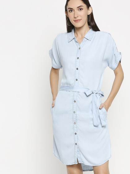 Product Image for Susy Light Blue Denim Dress
