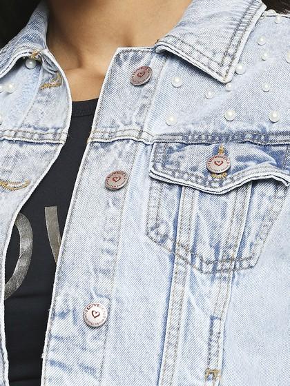 Product Image for Vancuber Super Light Blue Pearl Jacket