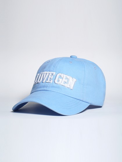Product Image for LoveGen Unisex Sky Blue Jeff Embroidered Cap with Visor