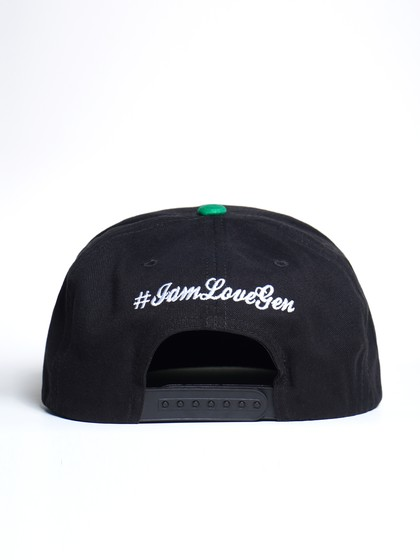 Product Image for LoveGen Unisex Green Ozzie Embroidered Cap With Visor