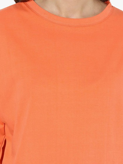 Product Image for Coral Fleece Elbow Cut-Out Sweatshirt