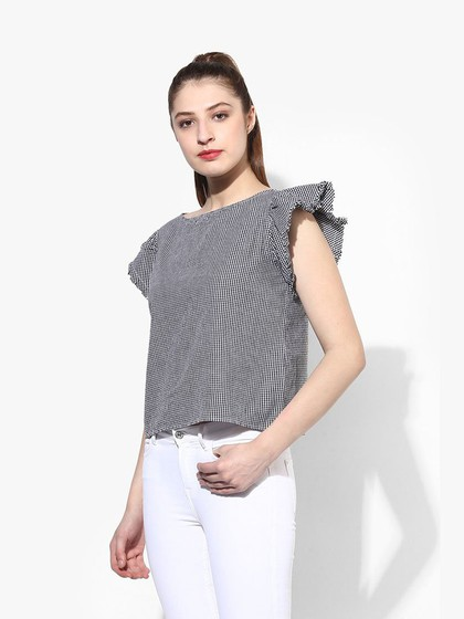 Product Image for Multi Cotton Gingham Top