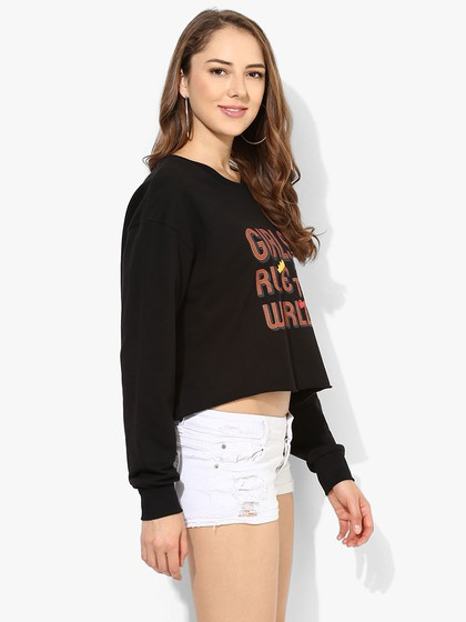 Product Image for Printed Full Sleeve Sweatshirt
