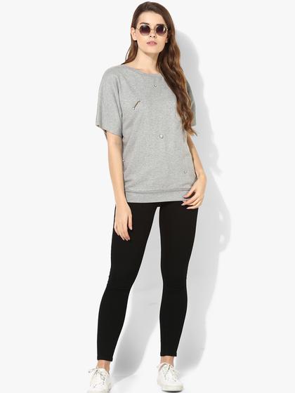 Product Image for Studded Kimono Sleeve Fleece Sweatshirt