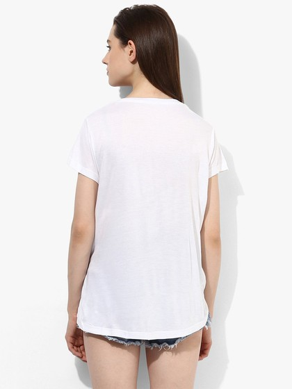 Product Image for White Slogan Tee
